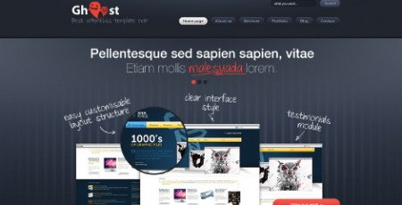 Ghost WordPress Theme
